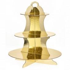 Βάση γλυκών χρυσή nvpt0011